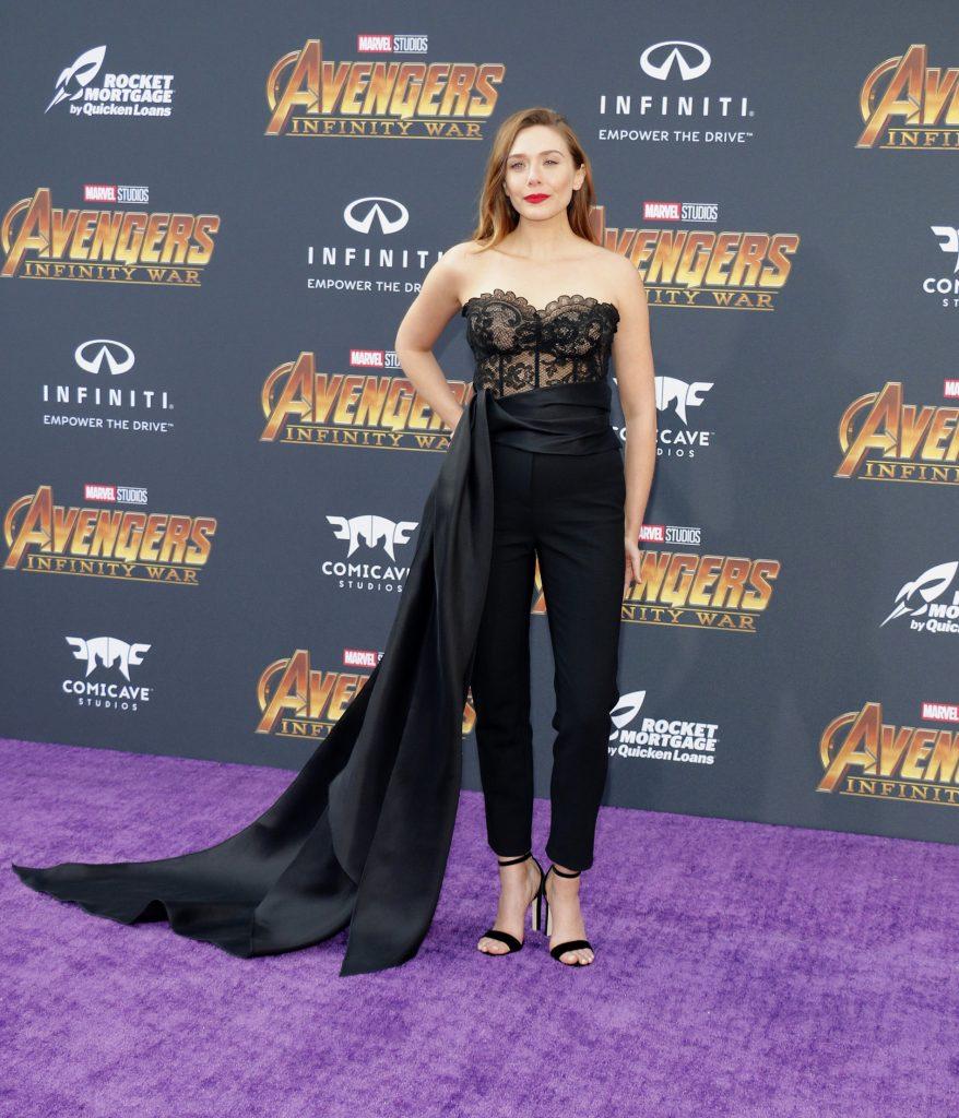 elizabeth olsen avengers star